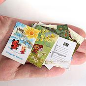 Открытки handmade. Livemaster - original item Mini-postcards of the USSR 15 PCs.
