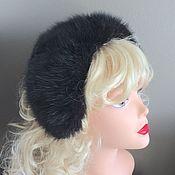 Hats1 handmade. Livemaster - original item Hat-bezel made of fur. Handmade.