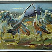 Картины и панно handmade. Livemaster - original item cranes. Handmade.