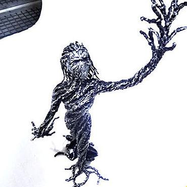 Субкультуры ручной работы. Ярмарка Мастеров - ручная работа Статуэтка  Дриада. Handmade.