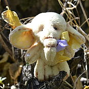 Куклы и игрушки ручной работы. Ярмарка Мастеров - ручная работа Тедди Слоняш Лимончик. Handmade.
