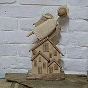 Для дома и интерьера ручной работы. Ярмарка Мастеров - ручная работа Ангел над городом. Handmade.