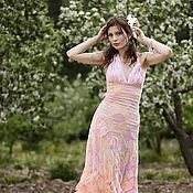 Одежда ручной работы. Ярмарка Мастеров - ручная работа Платье из шелка. Handmade.