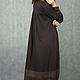 Платья ручной работы. Vacanze Romane-1159+. deRvoed Lena. Ярмарка Мастеров. Однотонный, шёлк-шифон