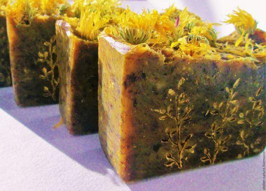 Мыло «Ноготки» натуральное, с экстрактом календулы для проблемной кожи