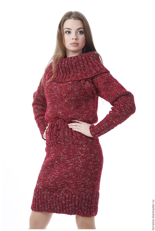 Теплое платье своими руками фото 146