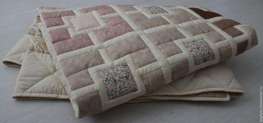 """Текстиль, ковры ручной работы. Ярмарка Мастеров - ручная работа. Купить Лоскутное покрывало """"Времена года -6"""". Handmade. одеяло"""