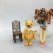 Куклы и игрушки handmade. Livemaster - original item Teddy Bears: Mini bear Mr. Harry. Handmade.