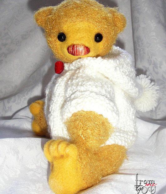 """Мишки Тедди ручной работы. Ярмарка Мастеров - ручная работа. Купить медвежонок """"Райз"""". Handmade. Медведь, медведи тедди"""