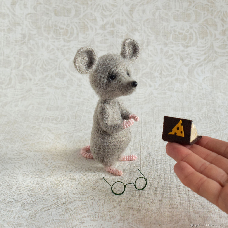 Mouse amigurumi pattern, Stuffed Toys, Tolyatti,  Фото №1