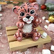 Косметика ручной работы handmade. Livemaster - original item Gift volumetric soap Tiger Cub Yegorka. Handmade.