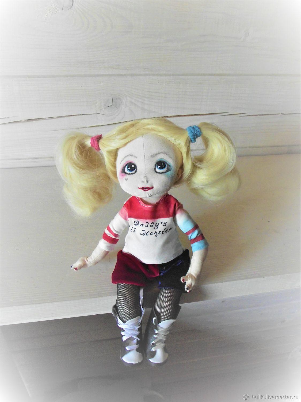 Кукла Харли Квин, Портретная кукла, Москва,  Фото №1