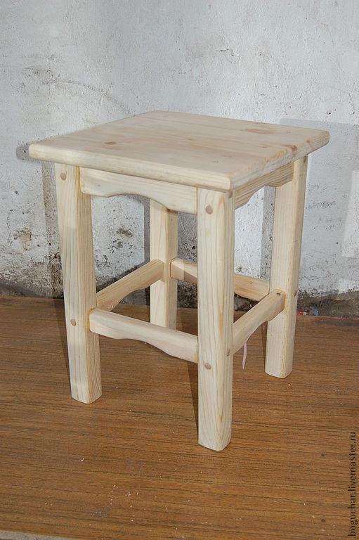 Мебель ручной работы. Ярмарка Мастеров - ручная работа. Купить Табурет классический. Handmade. Табурет, табуретка, дерево