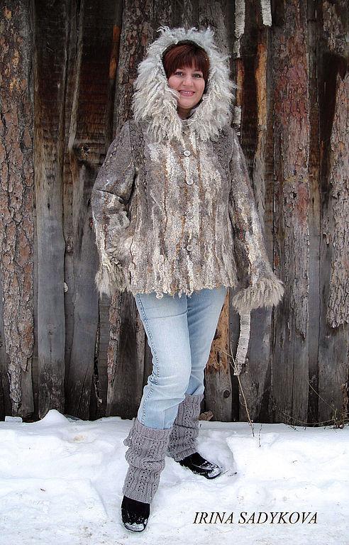 Верхняя зимняя одежда для женщин большого размера