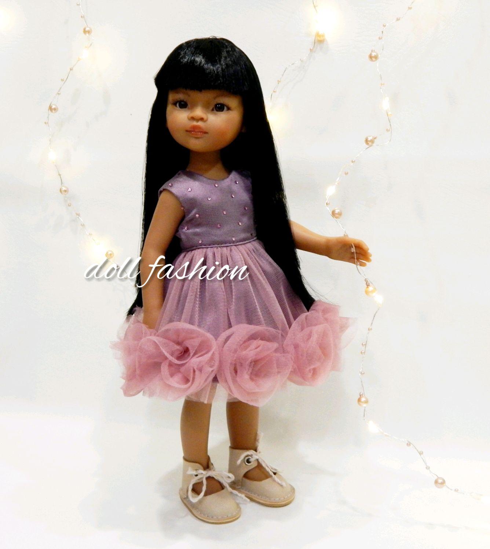 Нарядное платье для кукол Paola Reina из фатина, Одежда для кукол, Ижевск,  Фото №1