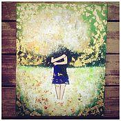 Картины и панно ручной работы. Ярмарка Мастеров - ручная работа Счастье. Handmade.