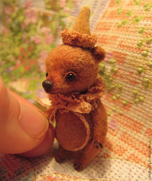 Мишки Тедди ручной работы. Ярмарка Мастеров - ручная работа. Купить Эдик. Handmade. Коричневый, подарок на любой случай, шплинты