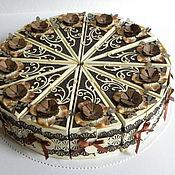 Подарки к праздникам ручной работы. Ярмарка Мастеров - ручная работа Торт с пожеланиями. Handmade.