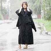 """Одежда ручной работы. Ярмарка Мастеров - ручная работа Длинное легкое бохо-пальто """"Black"""". Handmade."""