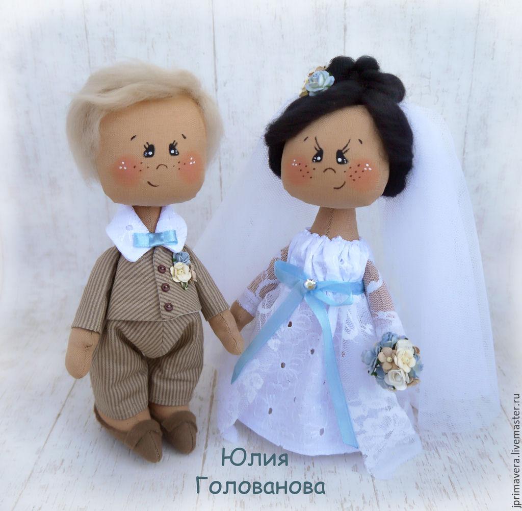 Кукла в подарок на свадьбу 925