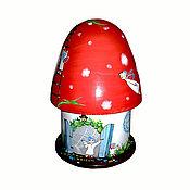 """Для дома и интерьера ручной работы. Ярмарка Мастеров - ручная работа Шкатулка """"Волшебный гриб"""". Handmade."""