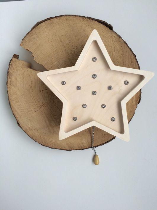 Освещение ручной работы. Ярмарка Мастеров - ручная работа. Купить Ночник из дерева. Handmade. Ночник, ночник из дерева
