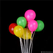 Аксессуары для кукол и игрушек ручной работы. Ярмарка Мастеров - ручная работа Аксессуары: Воздушные шары, шарики для кукол, игрушек. Handmade.