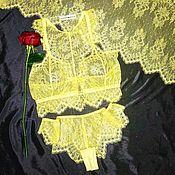 """Одежда ручной работы. Ярмарка Мастеров - ручная работа Комплект нижнего  белья """"MODIS"""", ручной работы.. Handmade."""