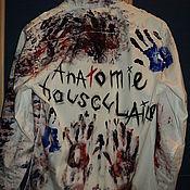 """Одежда ручной работы. Ярмарка Мастеров - ручная работа Рубашка """"Anatomie Bousculaire"""". Handmade."""