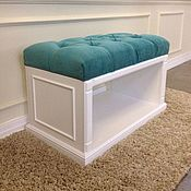 Для дома и интерьера handmade. Livemaster - original item 518.3 Bench with a niche for shoes.. Handmade.