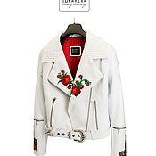 Одежда handmade. Livemaster - original item Exclusive jacket with unique hand beading. Handmade.