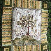 """Для дома и интерьера ручной работы. Ярмарка Мастеров - ручная работа Лоскутное одеяло """"Семейное древо"""". Handmade."""