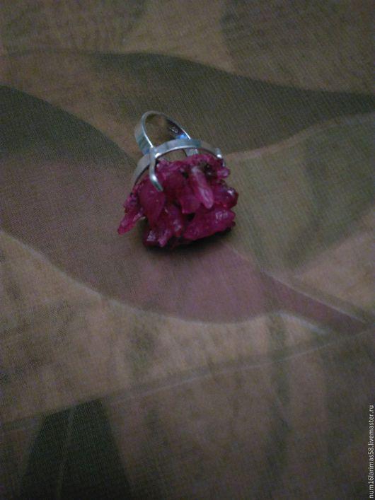 Кольца ручной работы. Ярмарка Мастеров - ручная работа. Купить кольцо Каменный цветок. Handmade. Розовый, натуральный камень