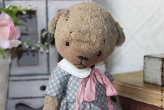 Мишки Тедди ручной работы. Ярмарка Мастеров - ручная работа. Купить Танюшка. Handmade. Мишка, интерьерная игрушка, гранулят стальной