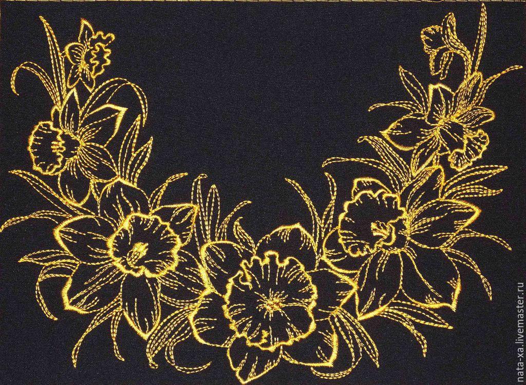 «Дизайны машинной вышивки скатерти - Поиск дизайнов. - Яндекс