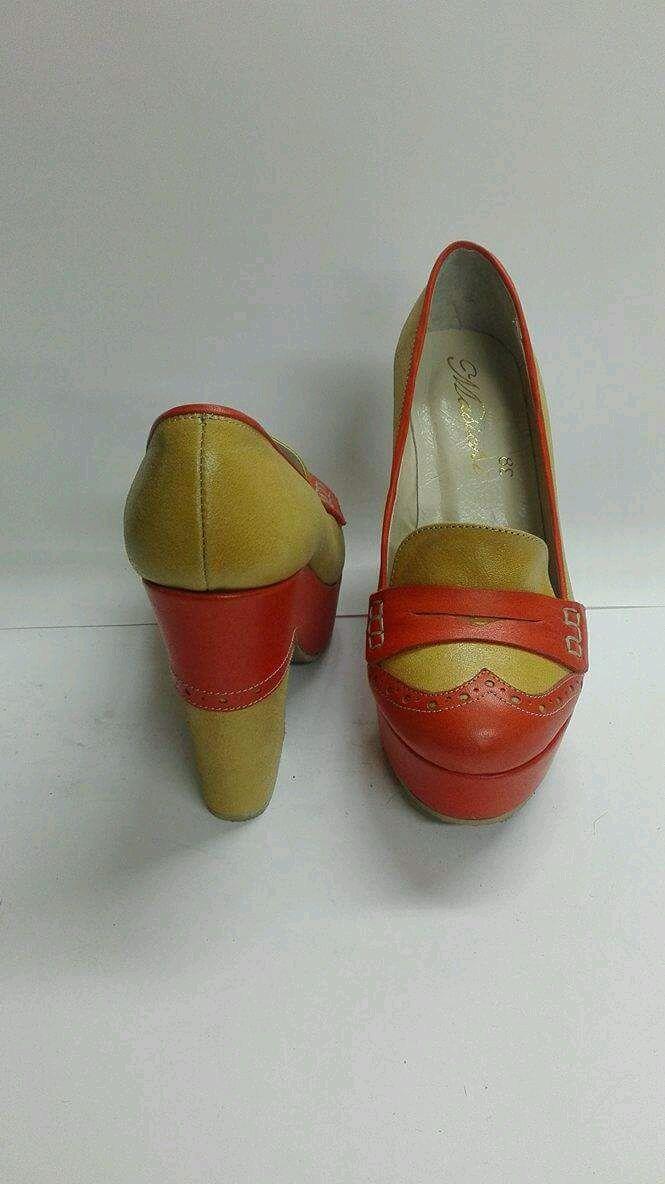 Женские туфли ручной работы