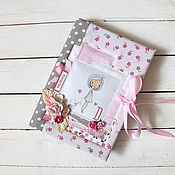 Канцелярские товары handmade. Livemaster - original item Notepad Diary for a teenager. Handmade.