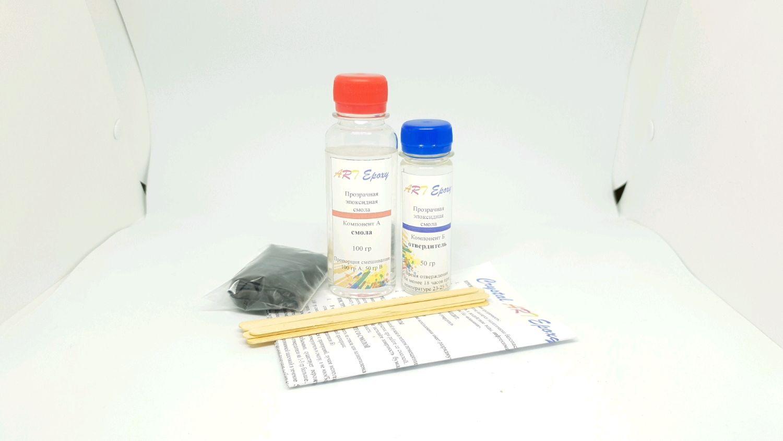 Кристально-прозрачная ювелирная эпоксидная смола ART Epoxy 150 грамм, Эпоксидная смола, Волгоград,  Фото №1