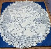 Работы для детей, ручной работы. Ярмарка Мастеров - ручная работа Плед для крещения маленького ангелочка. Handmade.