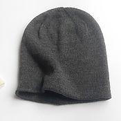 Аксессуары handmade. Livemaster - original item Beanie hat alpaca. Knitted hats. Handmade.