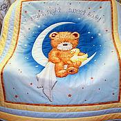 Для дома и интерьера ручной работы. Ярмарка Мастеров - ручная работа Детское покрывало Sweet baby. Handmade.