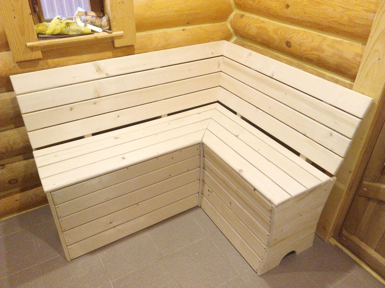 Скамейки в предбанник своими руками фото 92
