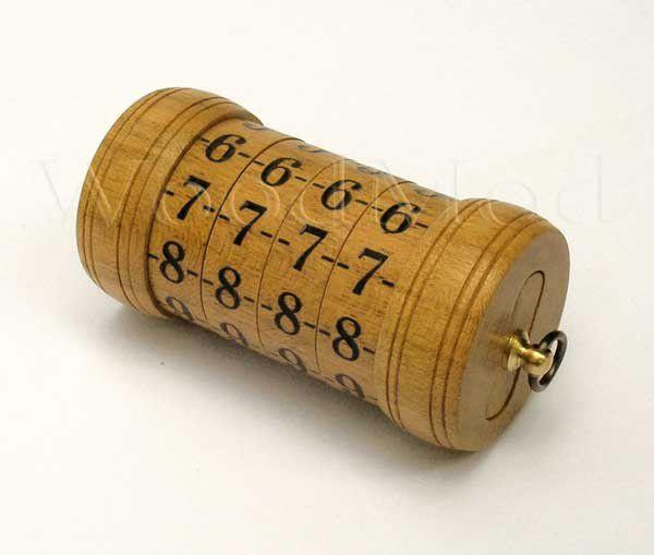 Криптекс из дерева