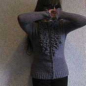 Одежда ручной работы. Ярмарка Мастеров - ручная работа Джемпер с рюшами.. Handmade.