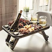 Посуда handmade. Livemaster - original item Wine table with folding legs. Handmade.