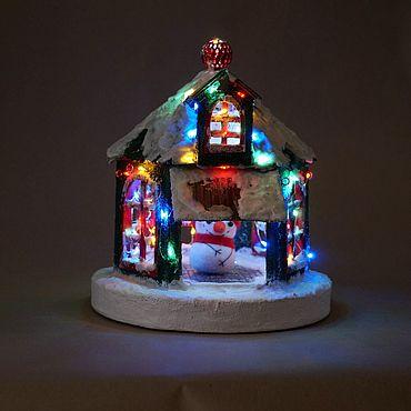 Для дома и интерьера ручной работы. Ярмарка Мастеров - ручная работа Новогодняя беседка. Handmade.
