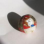 Куклы и игрушки ручной работы. Ярмарка Мастеров - ручная работа Лоскутный мячик. Handmade.