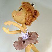 Куклы и игрушки ручной работы. Ярмарка Мастеров - ручная работа Маленькая балерина Луна. Handmade.