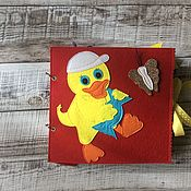 Кубики и книжки ручной работы. Ярмарка Мастеров - ручная работа Кубики и книжки: Книжка малышка для сладкоежек. Handmade.