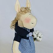 Куклы и игрушки ручной работы. Ярмарка Мастеров - ручная работа Лошадка Нелли. Handmade.
